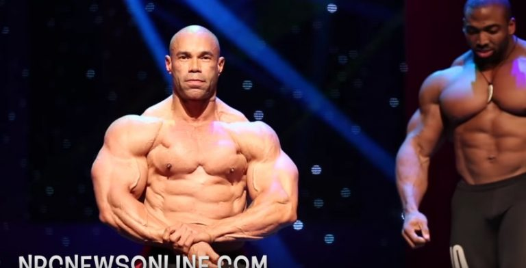 WATCH: 2016 Olympia Press Conference – Kevin Levrone Posedown Video