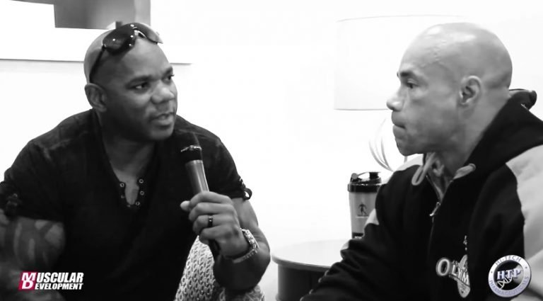 WATCH: Kevin Levrone's interview with Flex Wheeler