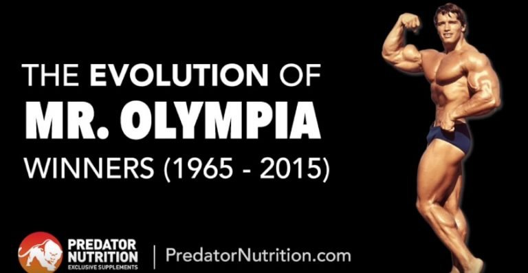 The Evolution of Mr Olympia Winners by Predator Nutrition