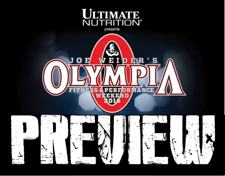 2016 Olympia Weekend Previews