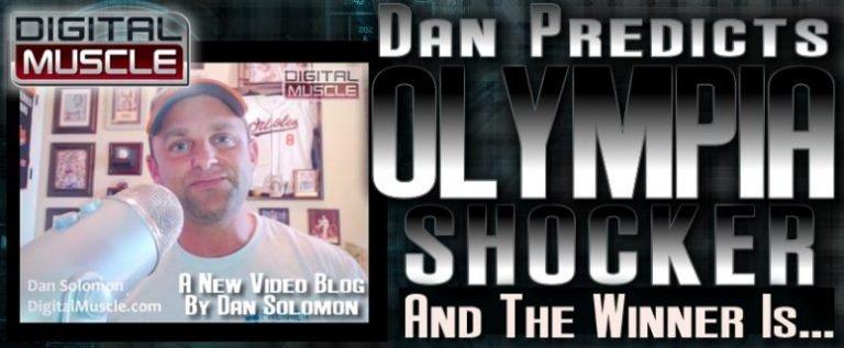 WATCH: Dan Solomon predicts his 2016 Mr. Olympia winner