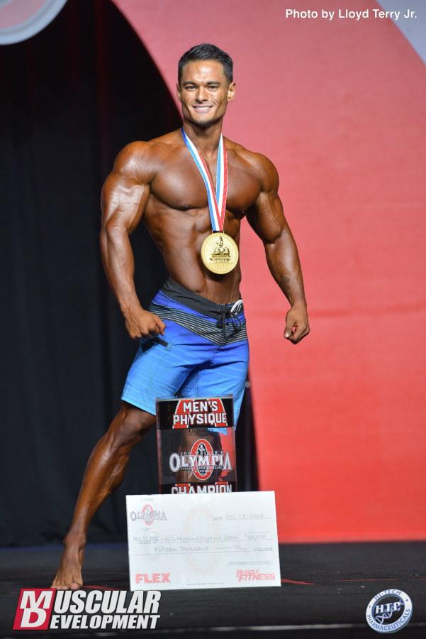 Jeremy Buendia wins his third Men's Physique Olympia