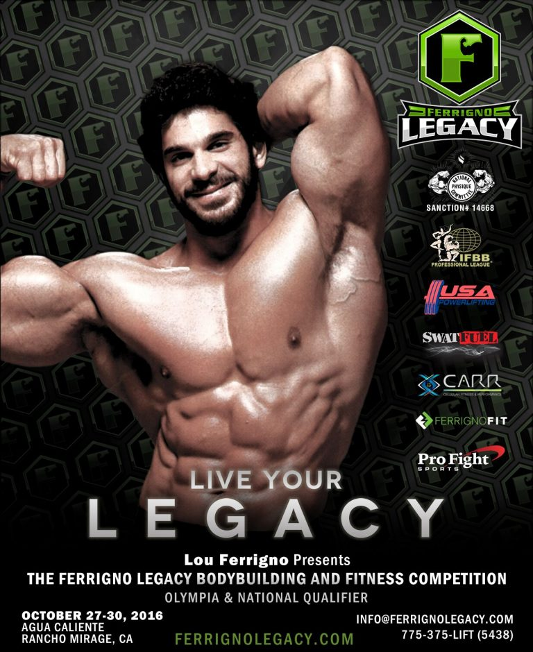 LOU FERRIGNO TO CELEBRATE FITNESS WITH CELEBRITIES, FANS, AND COMPETITORS