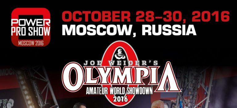 2016 IFBB Moscow Pro and Amateur Olympia Showdown – Russia