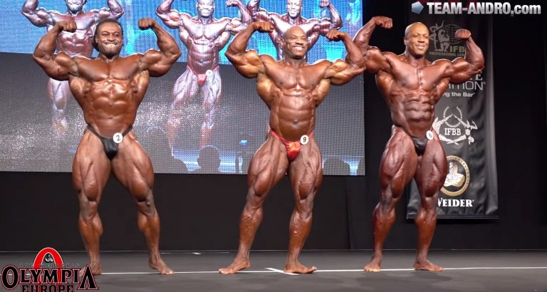 WATCH: Last Callout Olympia Europe Prejudging 2016