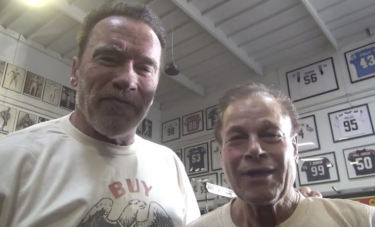 WATCH: Arnold and Franco celebrate 51 years of friendship