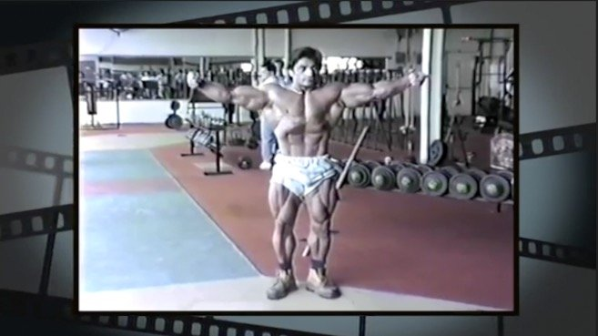 WATCH: Classic Danny Padilla training and posing