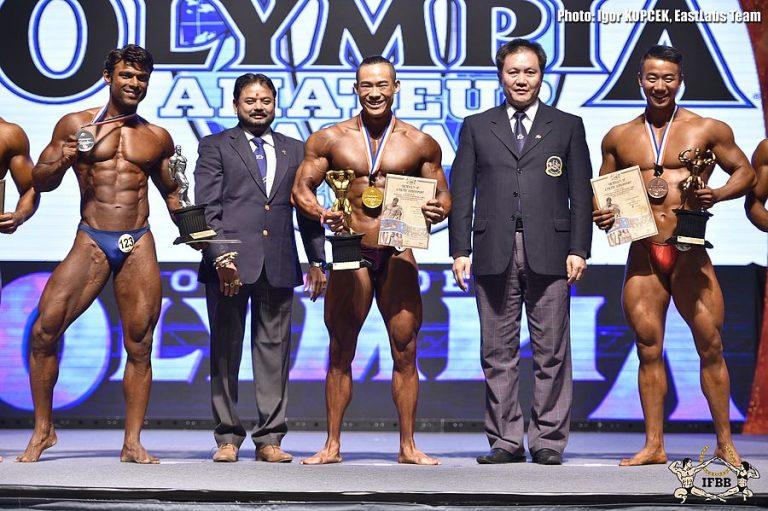 2016 Olympia Amateur Asia