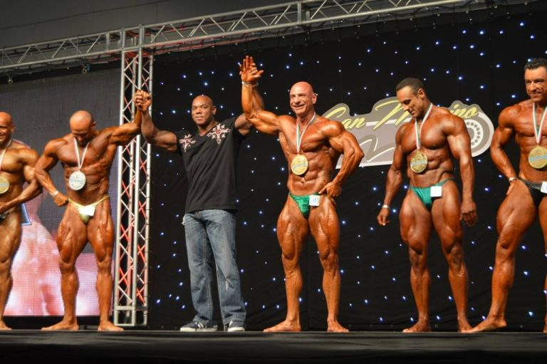 PHOTOS and RESULTS: 2016 San Marino Amateur Olympia – Men's Masters Bodybuilding