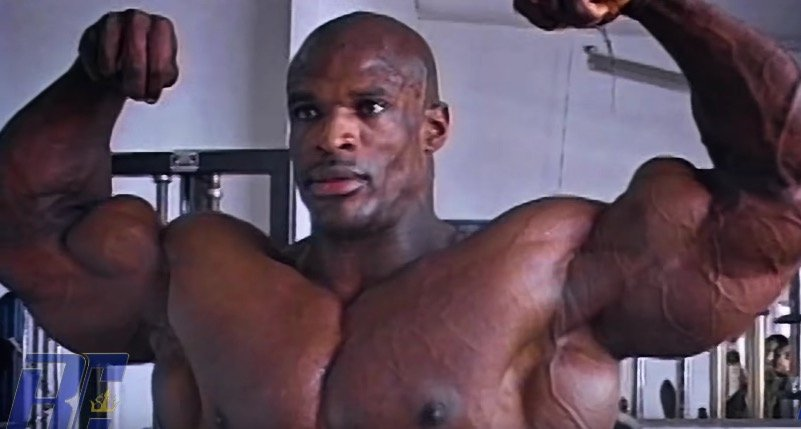 Ronnie Coleman First Workout Tape Remastered In 1080 Hd Evolution Of Bodybuilding