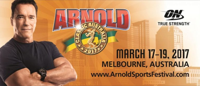 Official competitor list of the 2017 Arnold Classic Australia