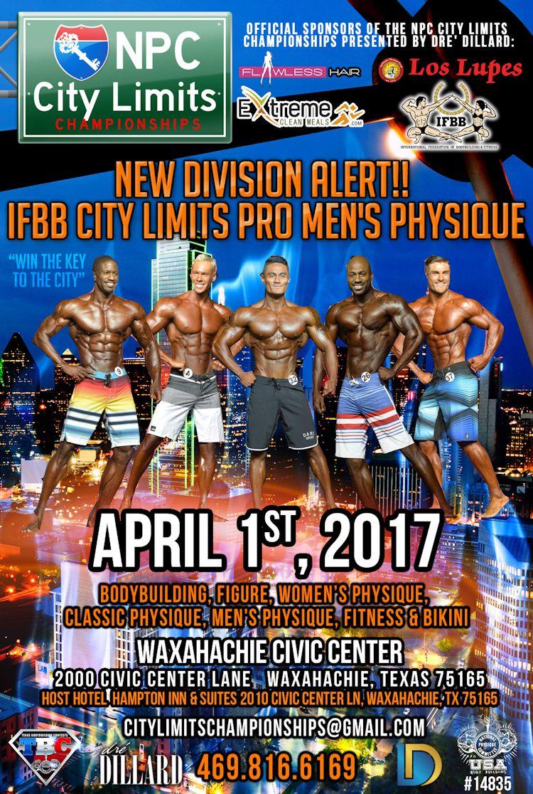 2017 IFBB City Limits Pro
