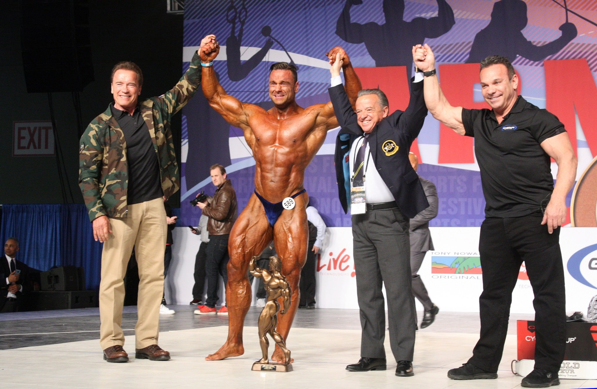 Eleventh-Annual Arnold Amateur Bodybuilding