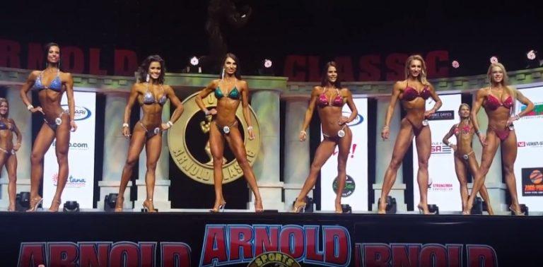 WATCH: 2017 Arnold Classic Bikini Amateur Semi-finals