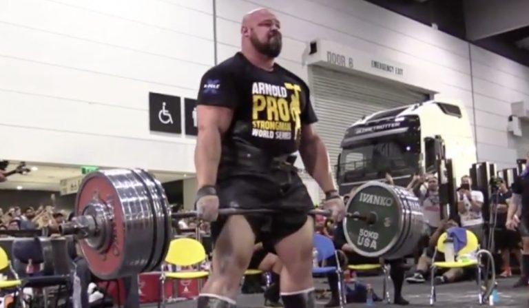 WATCH: Brian Shaw's incredible 970lbs deadlift