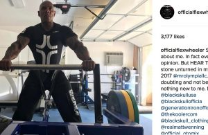 Flex Wheeler answers his critics