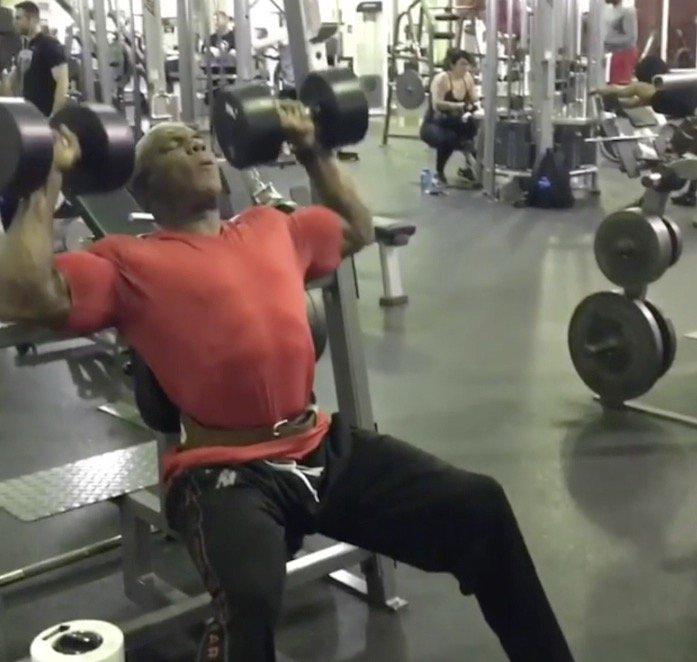 Flex Wheeler making great gains