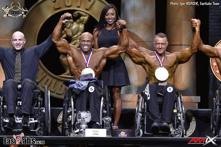 "Harold ""King Kong"" Kelley Wins 2nd Straight Arnold Classic Pro Wheelchair"