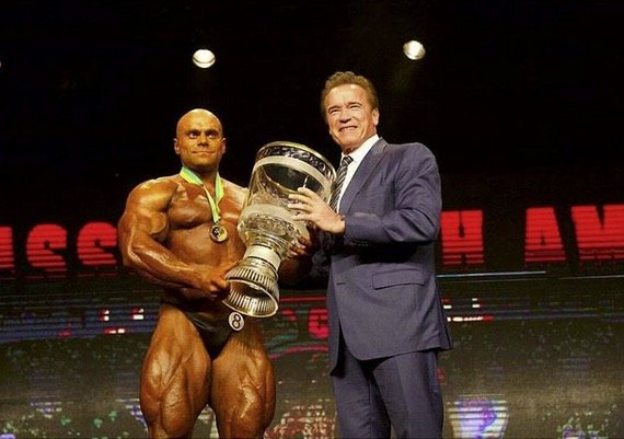 Lukas Osladil wins the 2017 Arnold Classic South America - Evolution of  Bodybuilding