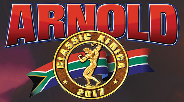 OFFICIAL 2017 Arnold Classic South Africa Competitors