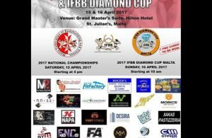 Full coverage 2017 IFBB Diamond Cup - Malta