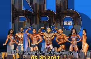 Official Competitors List: 2017 New York Pro