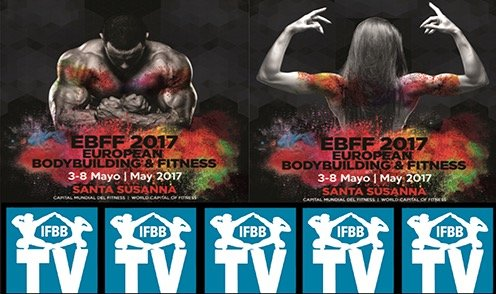 WATCH: 2017 IFBB European Championships LIVE Streaming