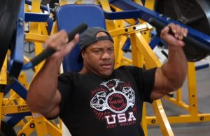 Mr. Olympia Phil Heath training session