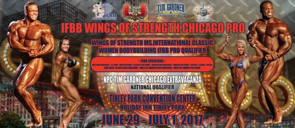 Official 2017 Chicago Pro Competitors List