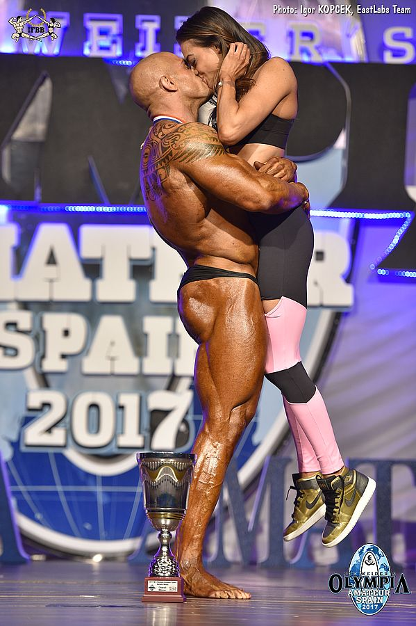Andrea Presti overall winner 2017 Olympia Amateur - Spain