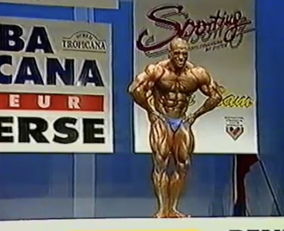 Looking Back: Dennis James - NABBA