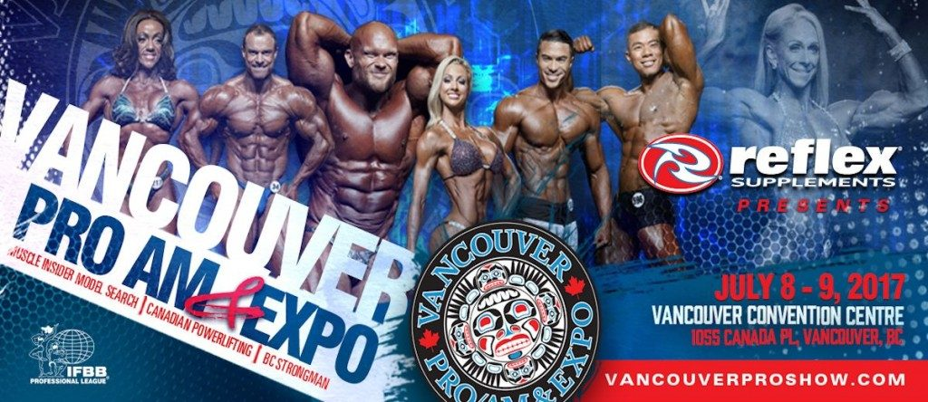 2017 Vancouver Pro Show Results