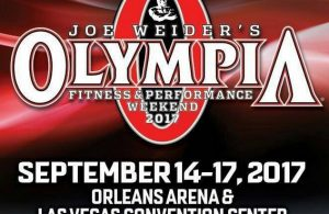 2017 Mr. Olympia competitors final list