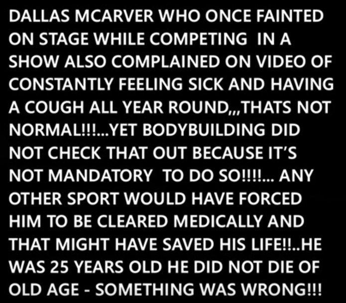 Gregg Valentino - Dallas McCarver Death
