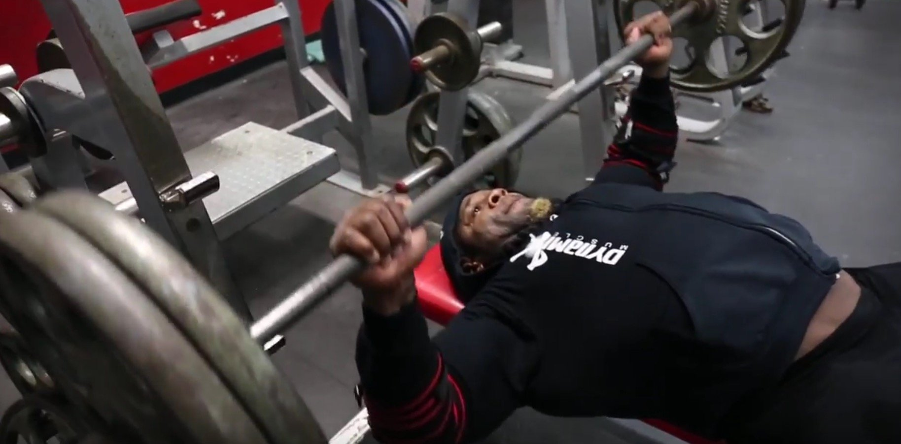 Kai Greene - hardcore workout