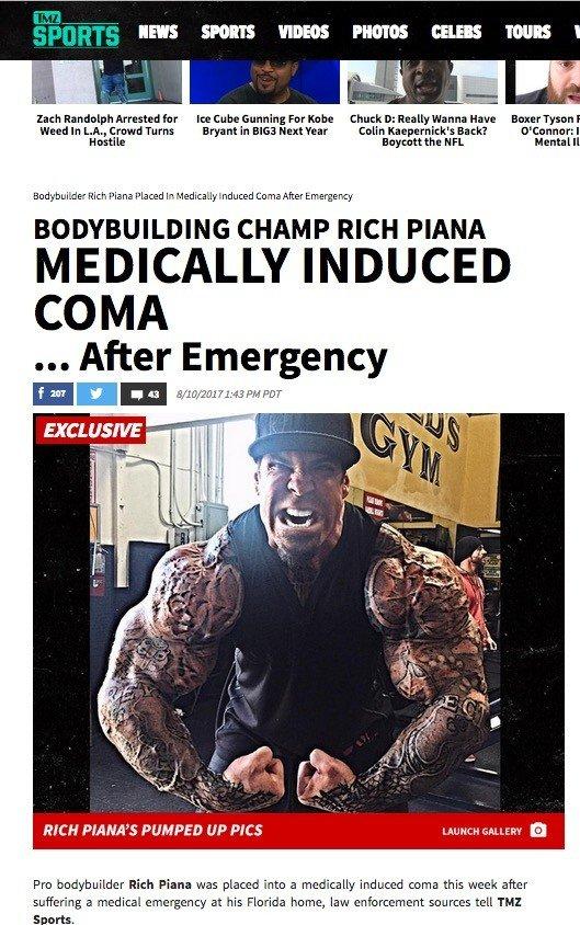 Rich Piana - Coma