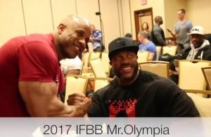 2017 Mr. Olympia Athletes Meeting