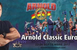 2017 Arnold Classic Europe - Official competitors list