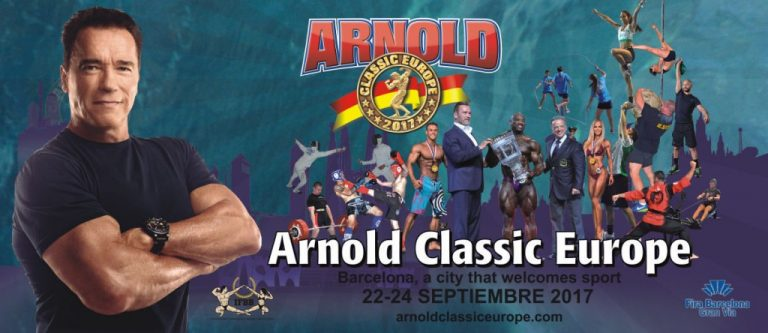 2017 Arnold Classic Europe – Official competitors list