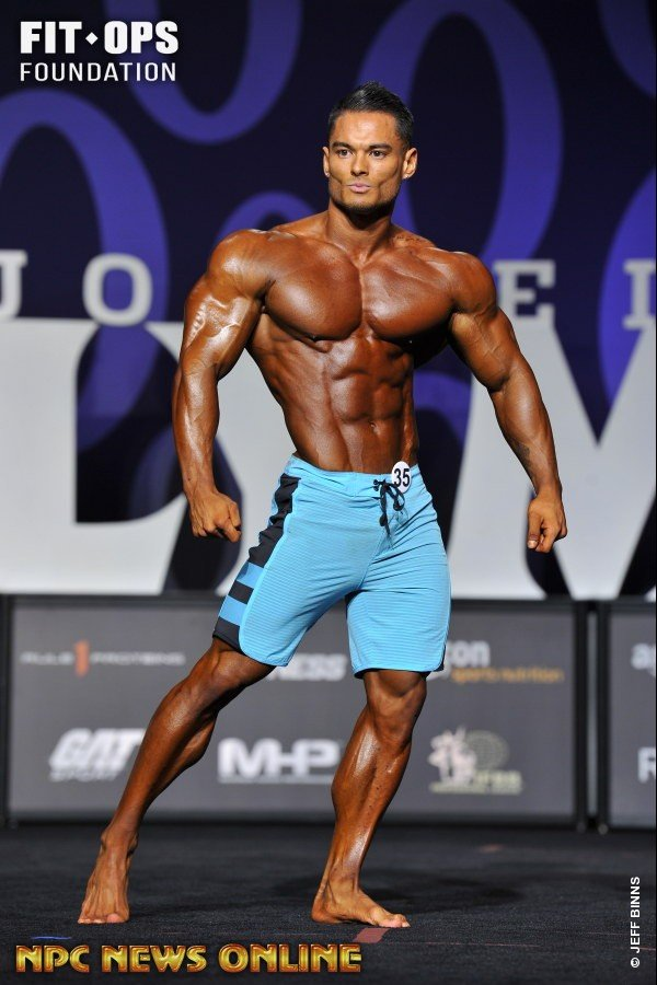 results jeremy buendia wins the 2017 physique olympia evolution