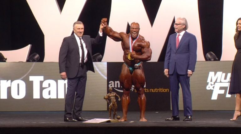 RESULTS: Phil Heath makes it seven Mr. Olympia victories