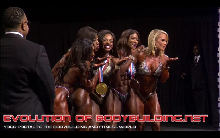 RESULTS: Cydney Gillon wins the 2017 Figure Olympia