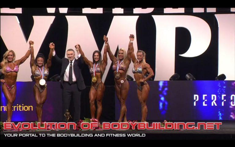 RESULTS: Oksana Grishina wins the 2017 Fitness Olympia
