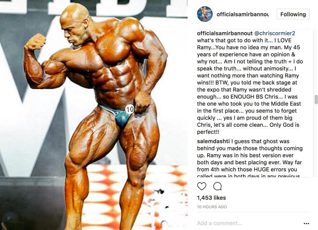 Chris Cormier vs Samir Bannout