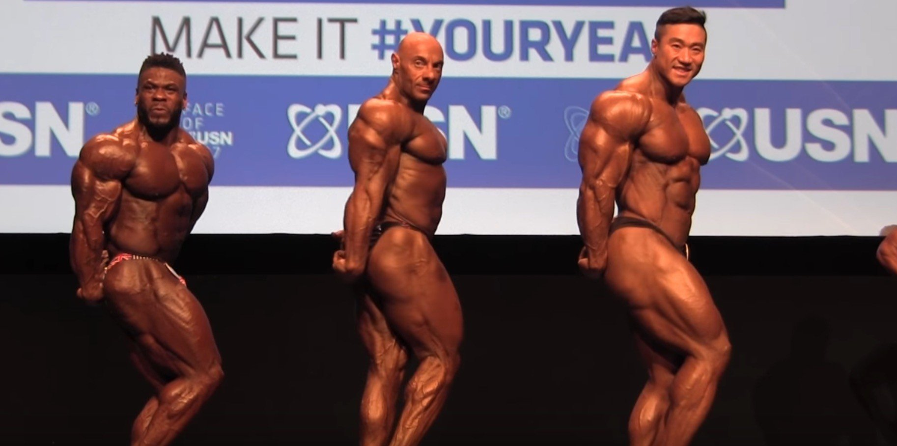2017 NABBA Mr. Universe Men's Pro Finals
