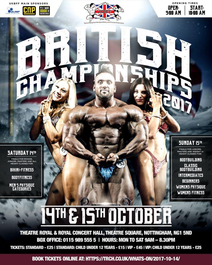 2017 UKBFF British Championships