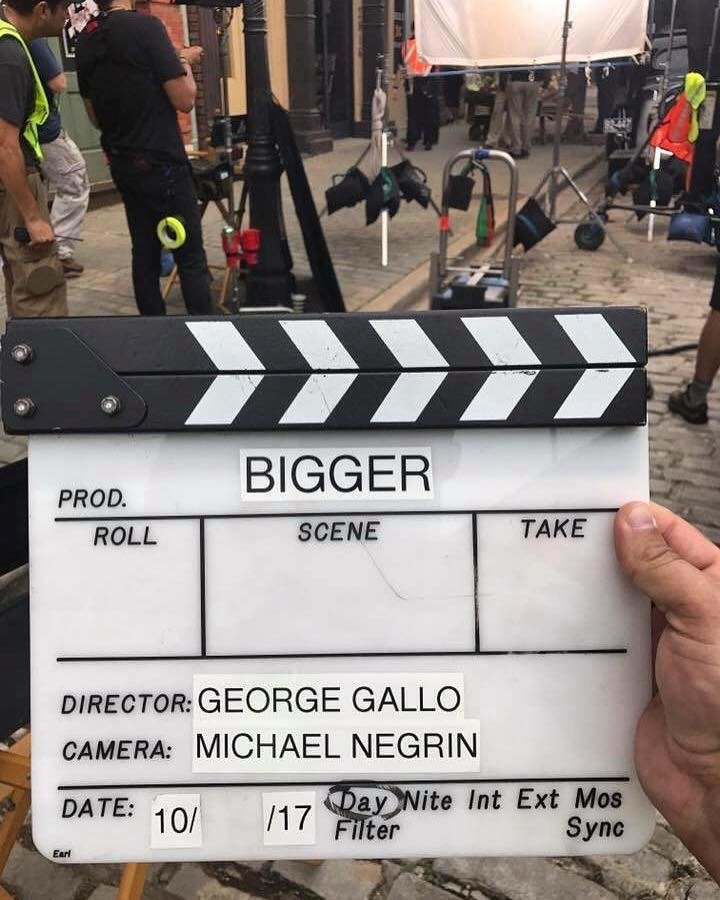PHOTOS from the set of BIGGER – The Joe Weider Story