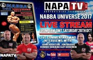 2017 NABBA Universe Live Feed