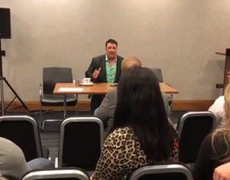 Bob Cicherillo Press Conference - UK