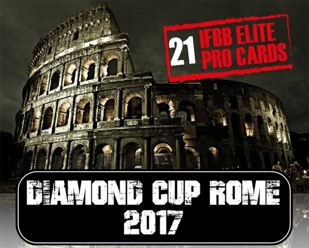 RESULTS: 2017 IFBB diamond Cup - Rome